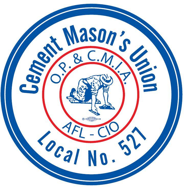 Cement Masons Local 527 Logo