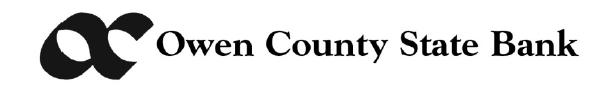 Owen County State Bank Logo