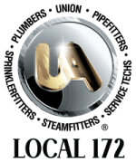 Plumbers & Pipefitters Local 172 Logo